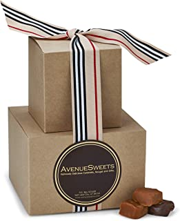 product image for AvenueSweets - Handcrafted Individually Wrapped Soft Caramels - Craft 2 lb Gift Tower - Customize Your Flavors