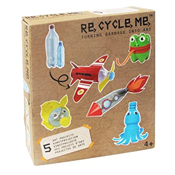 Re Cycle Me Diy Arts And Crafts Kit Recycler Bouteilles