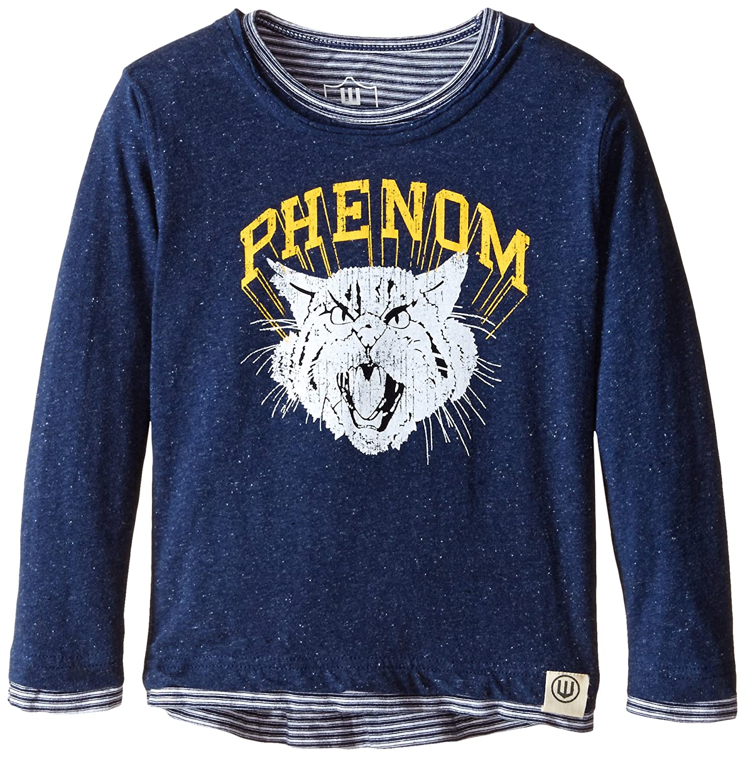 Wes /& Willy Little Boys Phenom Speckle Layered Long Sleeve