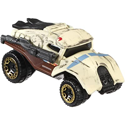 Hot Wheels Star Wars Rogue One - Scarif Stormtrooper Character Car: Toys & Games