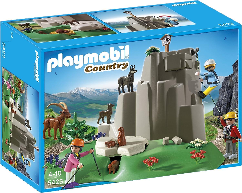 Amazon.com: Playmobil Rock Climbers with Mountain Animals ...