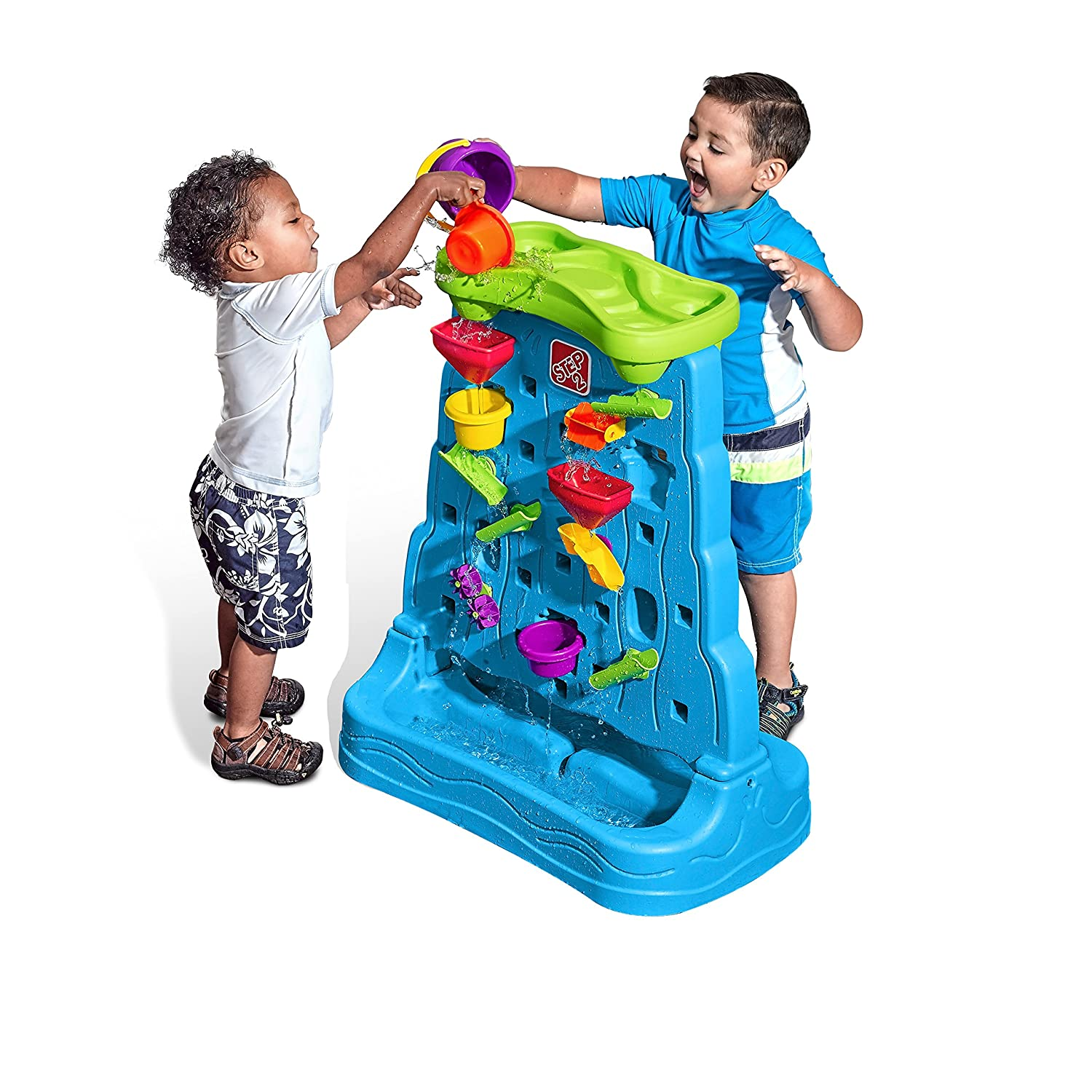 6. Step2 Waterfall Discovery Wall Playset