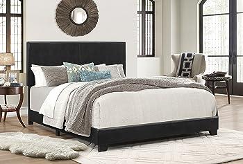 Crown Mark Upholstered Panel Bed
