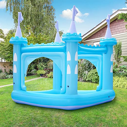 Teamson Kids Castillo Piscina Infantil, Azul: Amazon.es: Jardín