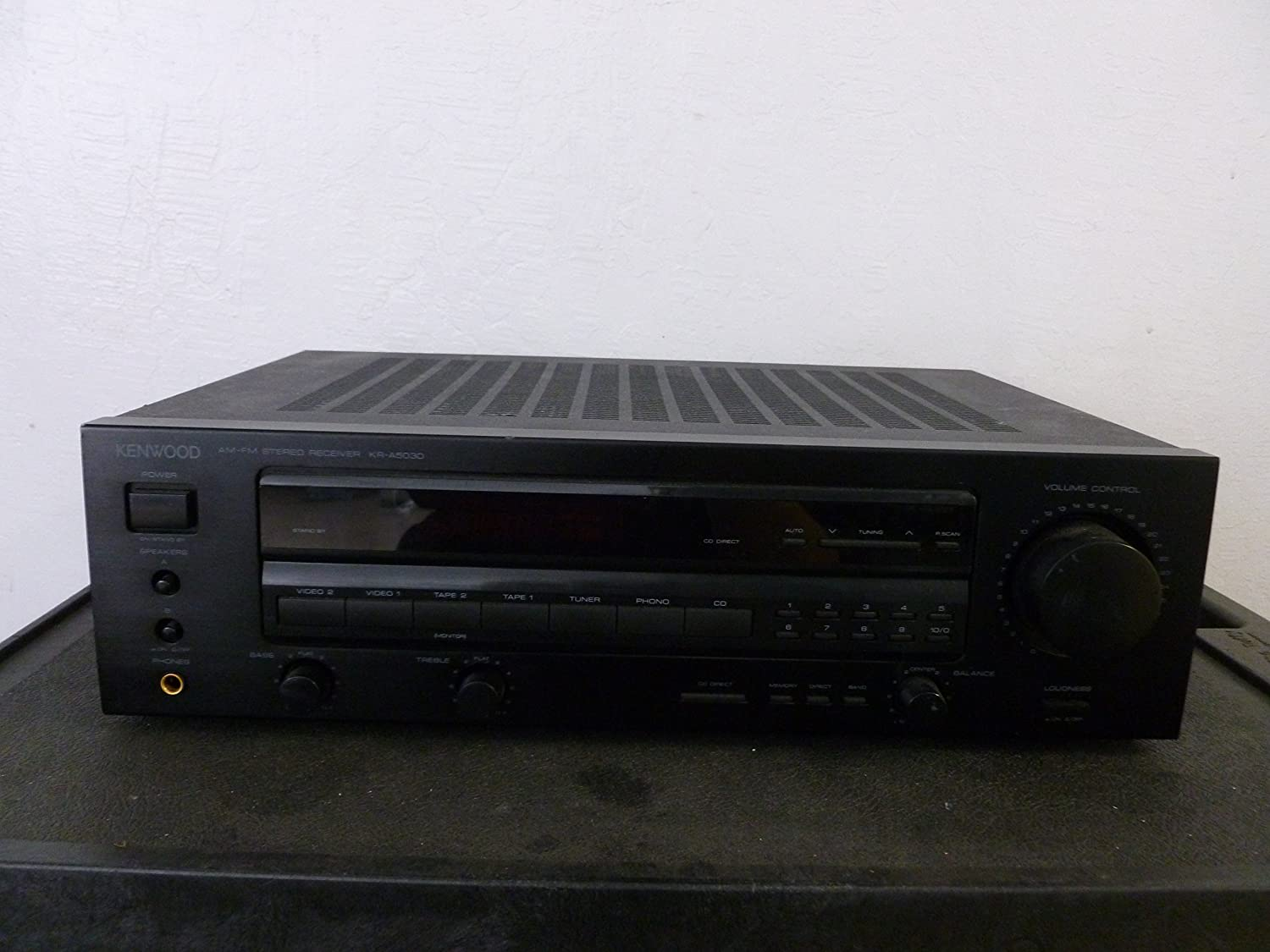 Kenwood KR-A5030 AM/FM Stereo Receiver Tuner