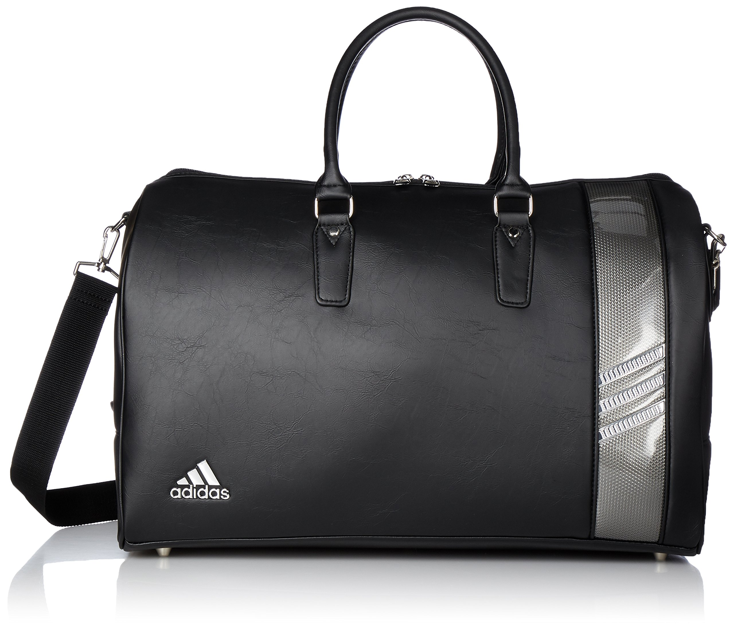 [Adidas Golf] Boston bag L50 × W24 × H 31 cm / with shoes in pocket / AWT 82 A92345 black