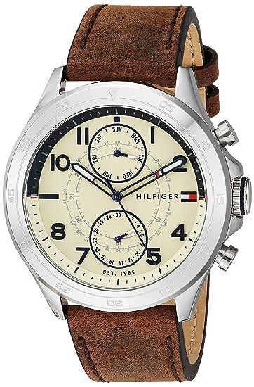 Tommy Hilfiger De los hombres Watch Hudson Reloj 1791344: Amazon.es: Relojes