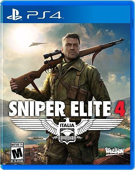 Amazon com: Sniper Elite 4 - PlayStation 4: Ui Entertainment: Video