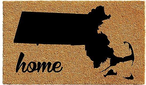 Calloway Mills 105272436 Massachusetts Doormat, 24 x 36 , Natural Black