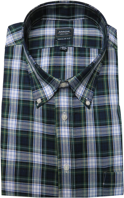 Arrow Mens Regular Fit Pattern Dress Shirt