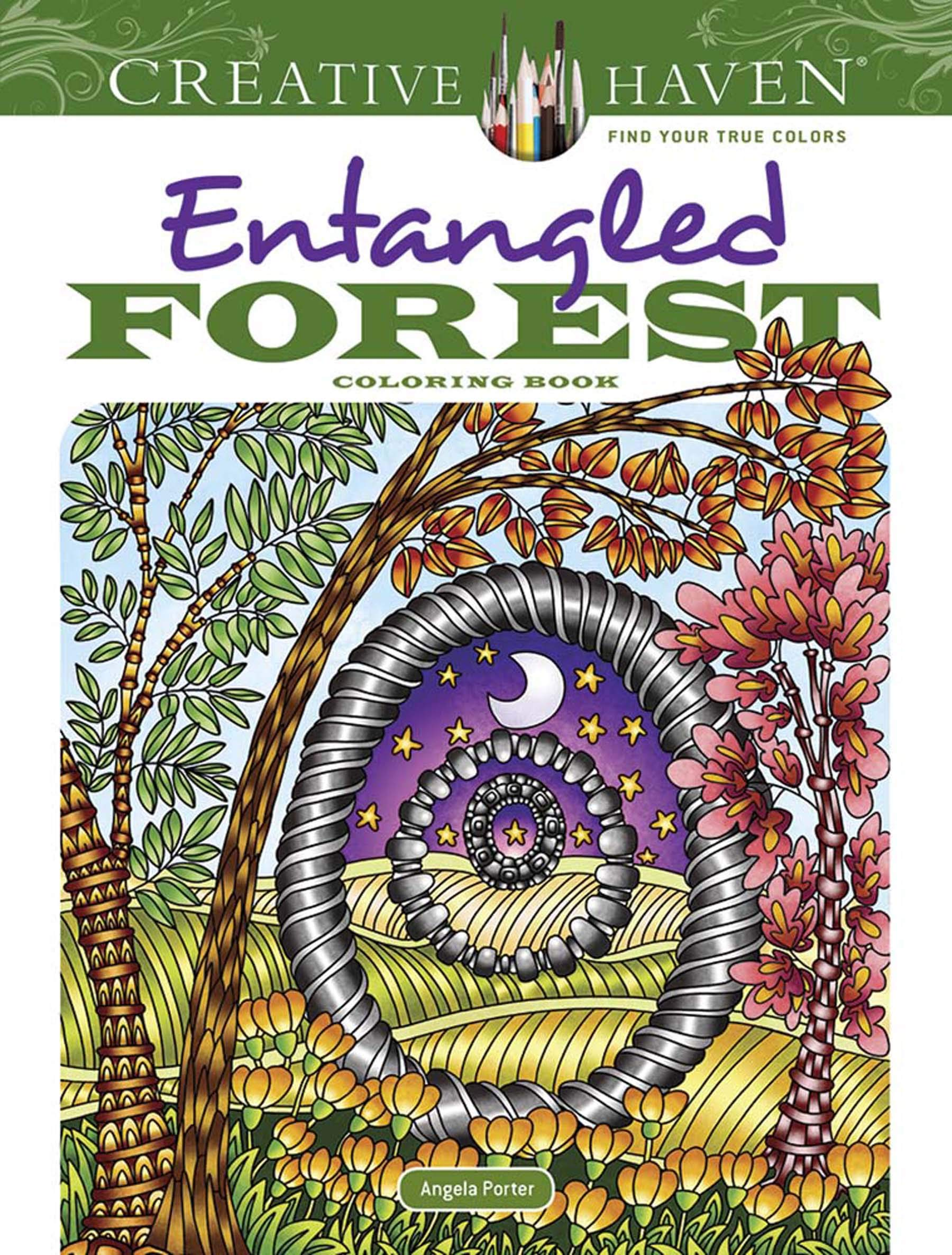 Amazon.com: Creative Haven Entangled Forest Coloring Book (Adult Coloring)  (9780486833996): Dr. Angela Porter: Books