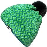 676d725da3b YUTRO Women s Wool Thinsulate Fleece Lined Ski Beanie Winter Hat With  Rabbit Pom