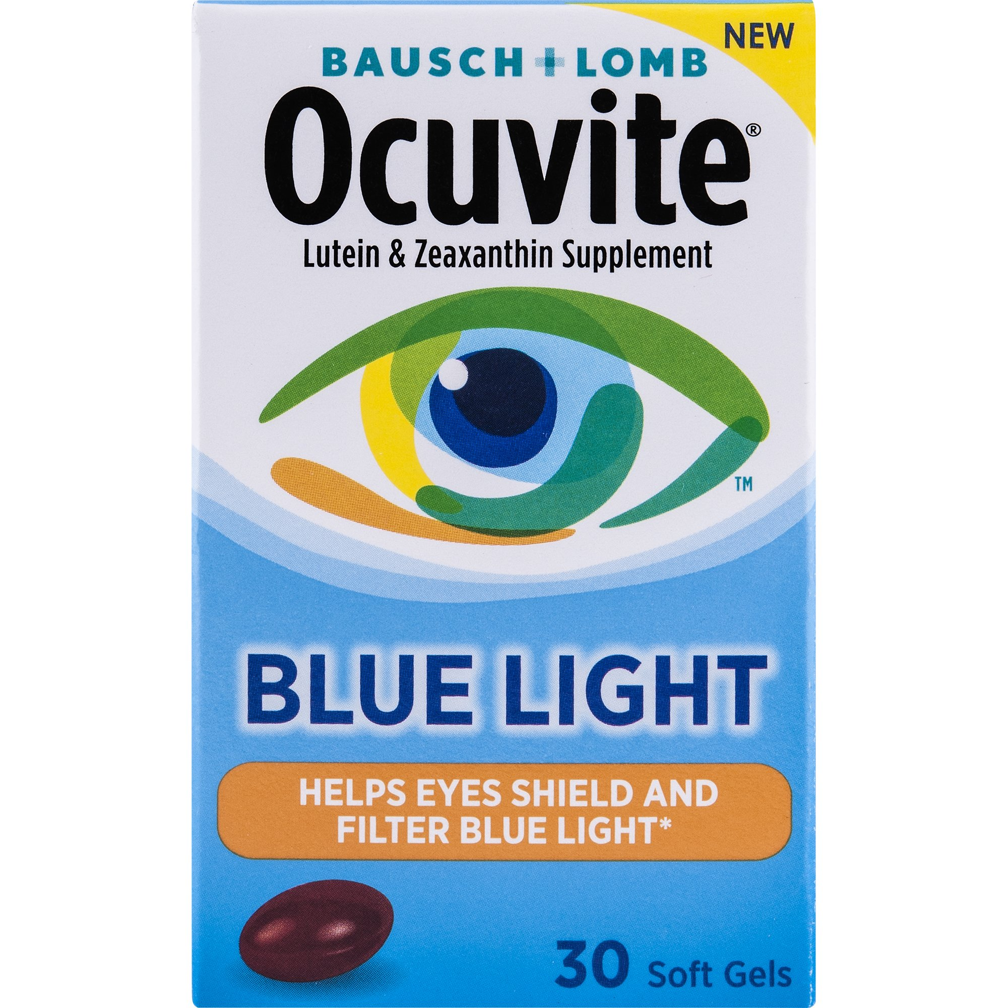Ocuvite Blue Light Defense, 30 Count by Ocuvite