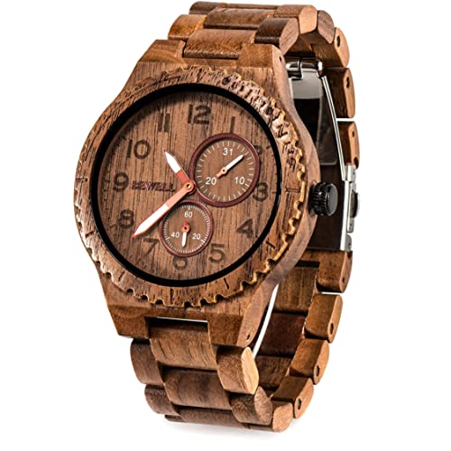 BEWELL W 154 Wooden Watch review