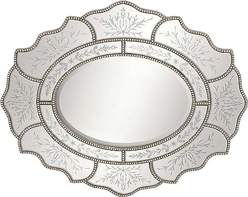 Deco 79 Pu Wall Mirror, 34 by 42-Inch