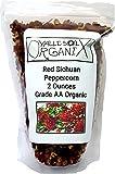 Valle Sol Organix - Red Sichuan Peppercorn - 2 Ounces - Grade AA Organic