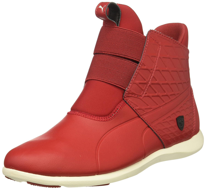 PUMA Women's SF Ankle Boot Sneaker B01MXYSEAH 9 M US|Chili Pepper-chili Pepper-whisper White