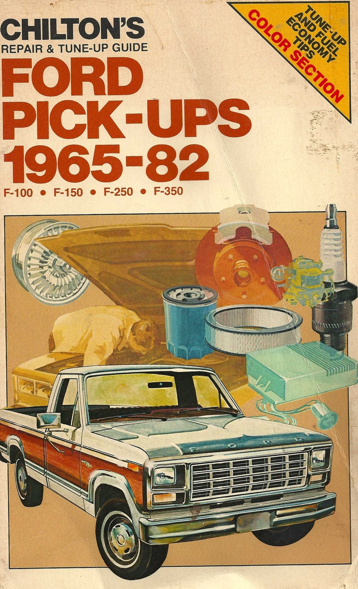 chilton s repair tune up guide ford pick ups 1965 82 f 100 f rh amazon com  1986 ford f250 repair manual pdf ford f250 repair manual online free