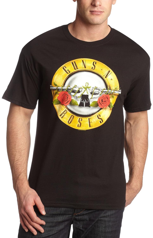 Black t shirt amazon - Amazon Com Bravado Men S Guns N Roses Bullet T Shirt Fashion T Shirts Clothing