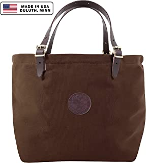 product image for Duluth Pack Market Tote, Brown, 14 x 18 x 9-Inch