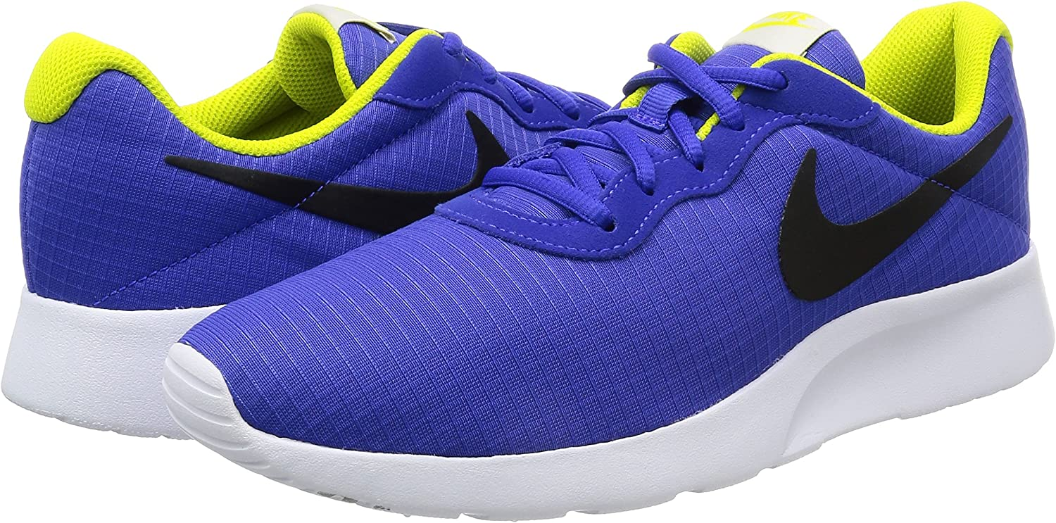 NIKE Mens Tanjun Sneakers Breathable Textile Uppers and Comfortable Lightweight Cushioning
