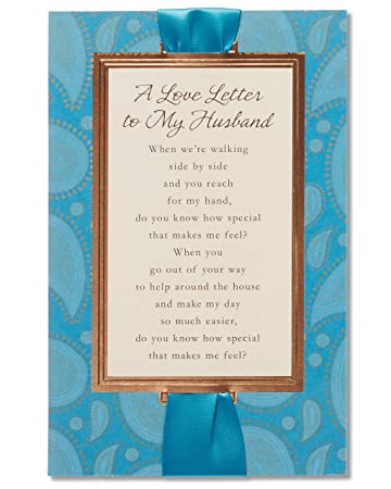 Amazon sentimental love letter fathers day card for husband sentimental love letter fathers day card for husband m4hsunfo