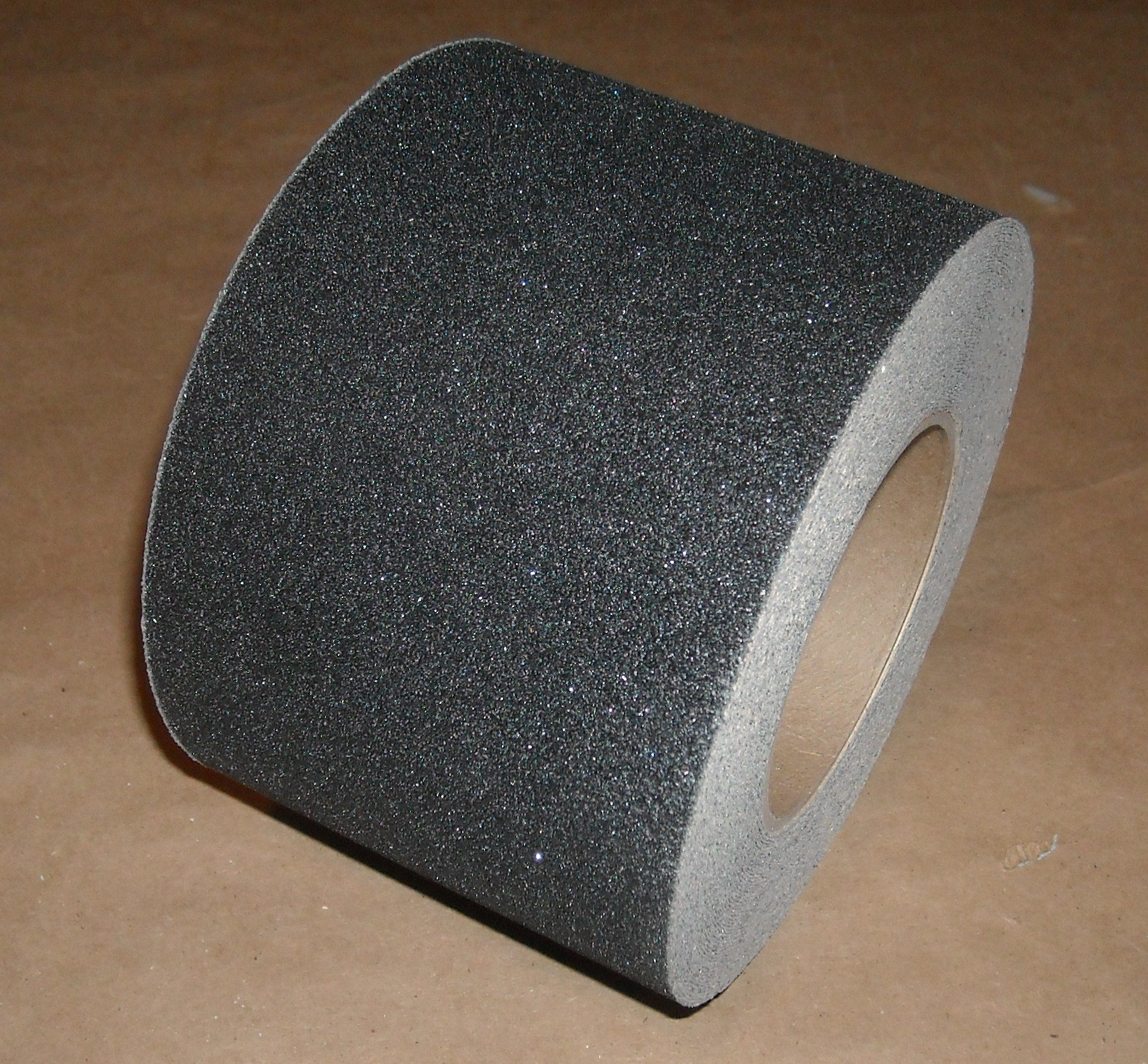 Safe Way Traction 4'' X 60' Foot Roll of Black Adhesive Anti Slip Non Skid Abrasive Safety Tape 3100-4