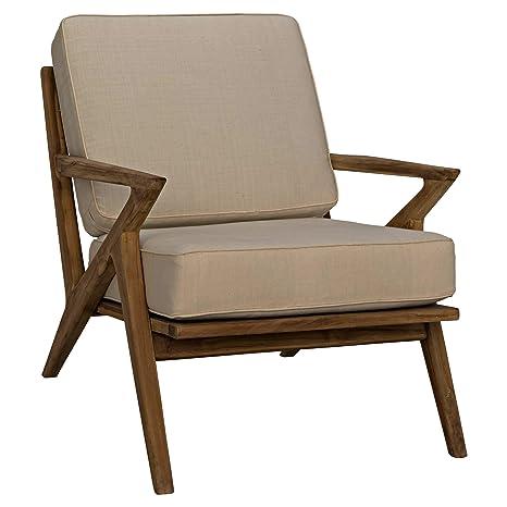 Amazon.com: Kathy Kuo Home Maddox - Silla de salón (madera ...