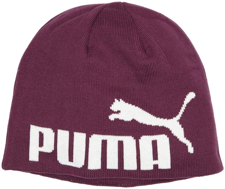 Puma Kinder Mütze Beanie, 834016 51 Puma Kinder Mütze Beanie Italian Plum-No1 Logo OSFK 834016 54