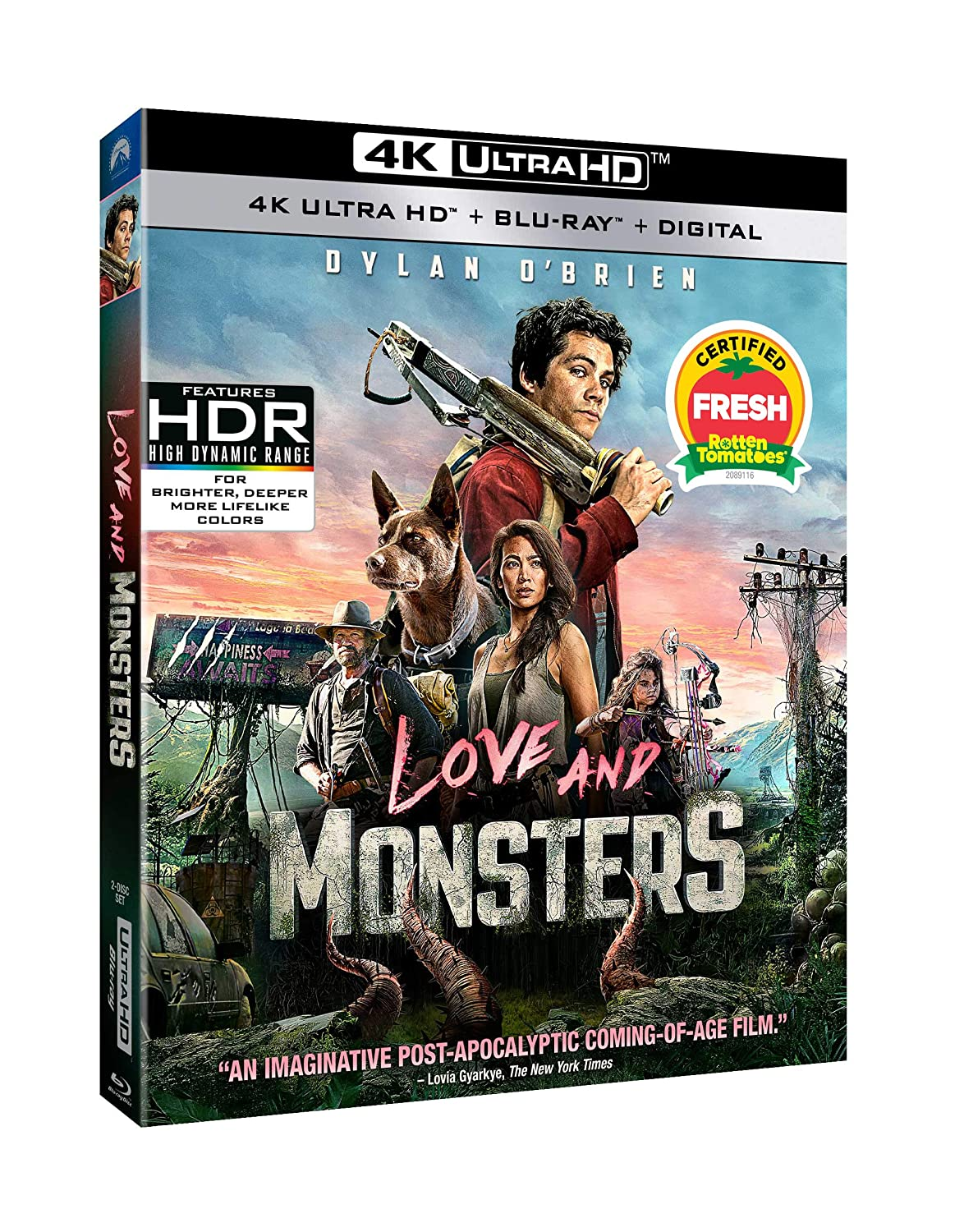 Poster. Love and Monsters