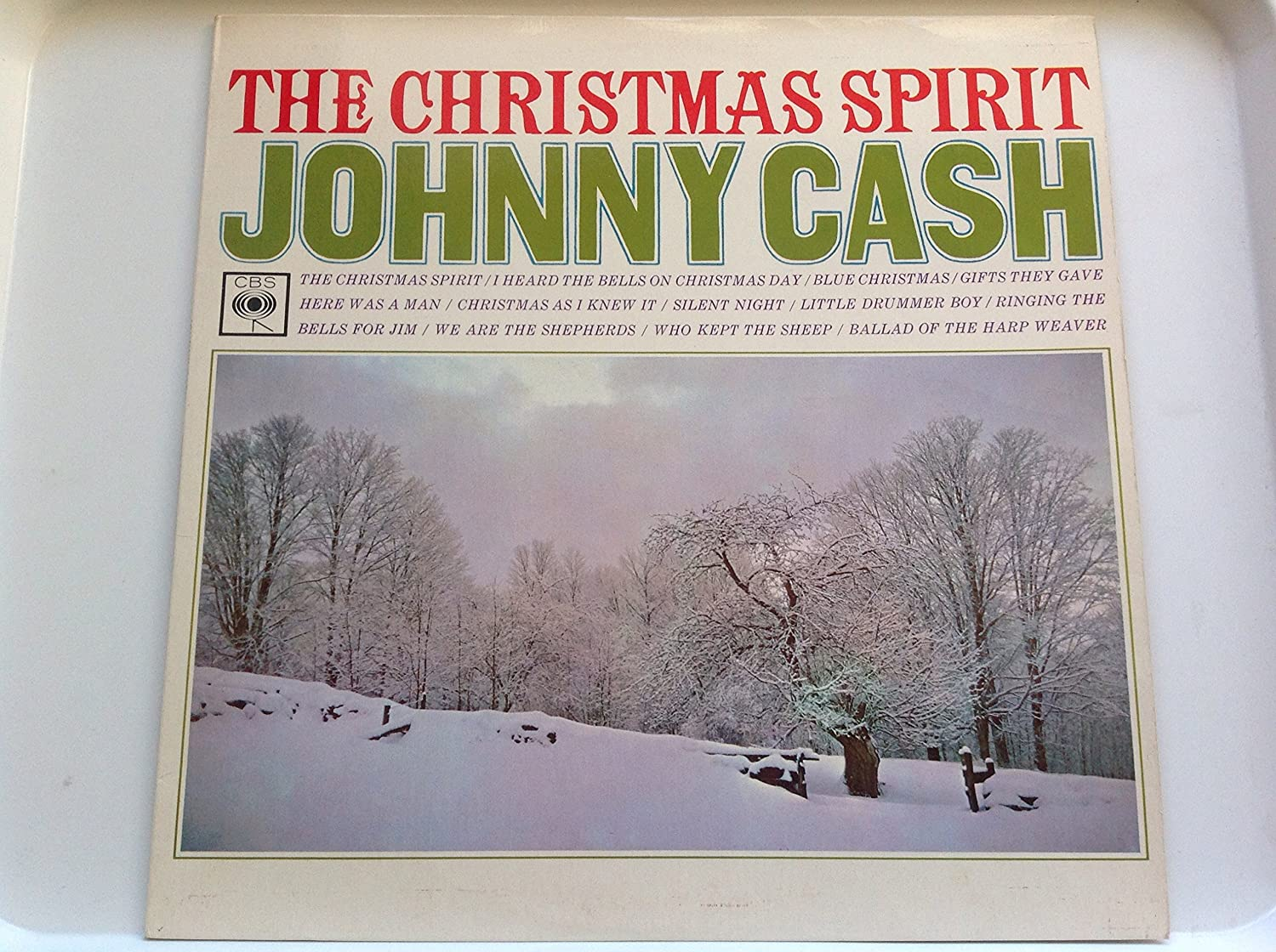 the christmas spirit LP: JOHNNY CASH: Amazon.es: Música