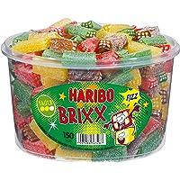 Haribo Prickle Brixx, Acid Fruit Gummies with Fizzy Powder, Gummy Bears, Wine Gummies, Fruit Gummies, 150 Units, 1200 g…