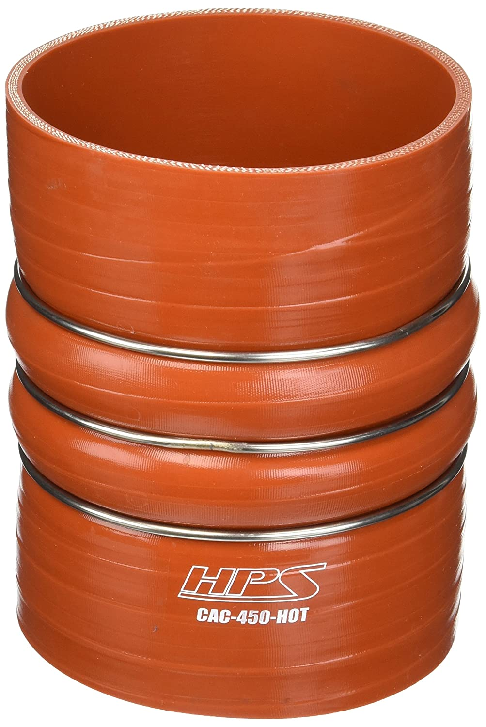 6 Length 100 PSI Maximum Pressure Orange 6 Length 4-1//2 ID HPS Silicone Hoses HPS CAC-450-HOT Silicone High Temperature 4-ply Aramid Reinforced Charge Air Cooler CAC Hose Hot Side 4-1//2 ID