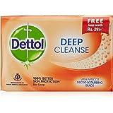 Dettol Deep Cleanse Soap, 125g (Packof 3)