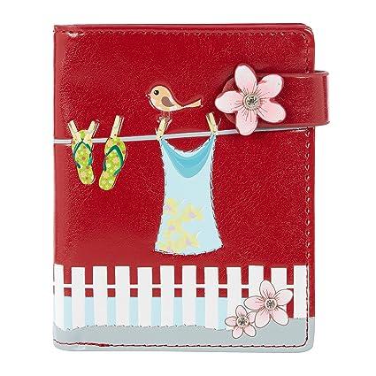 Shagwear - Monederos para mujeres jóvenes: Varios colores y diseños:, (Strandkleidung Rot/ Beachwear),