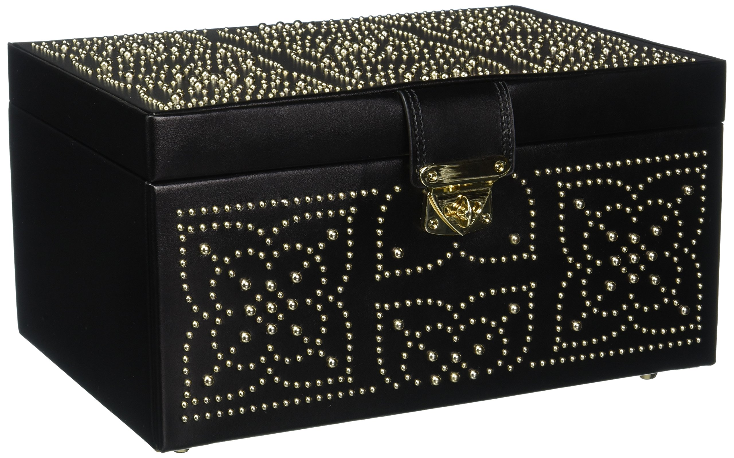 WOLF Marrakesh Medium Jewelry Box Black