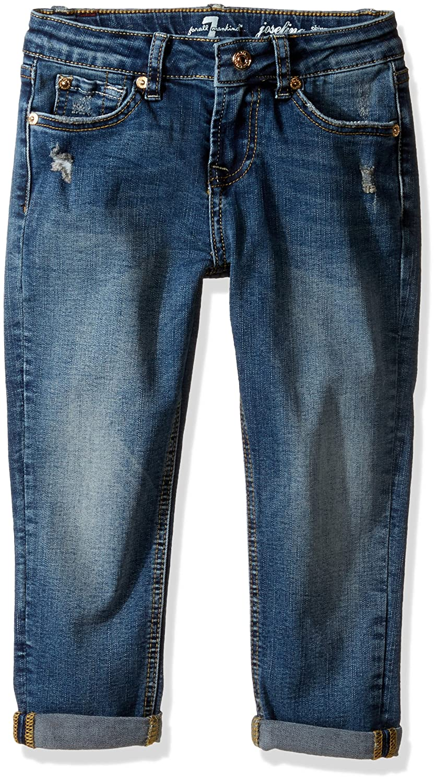 7 For All Mankind Girls' Josefina Icelandic Blue Jean