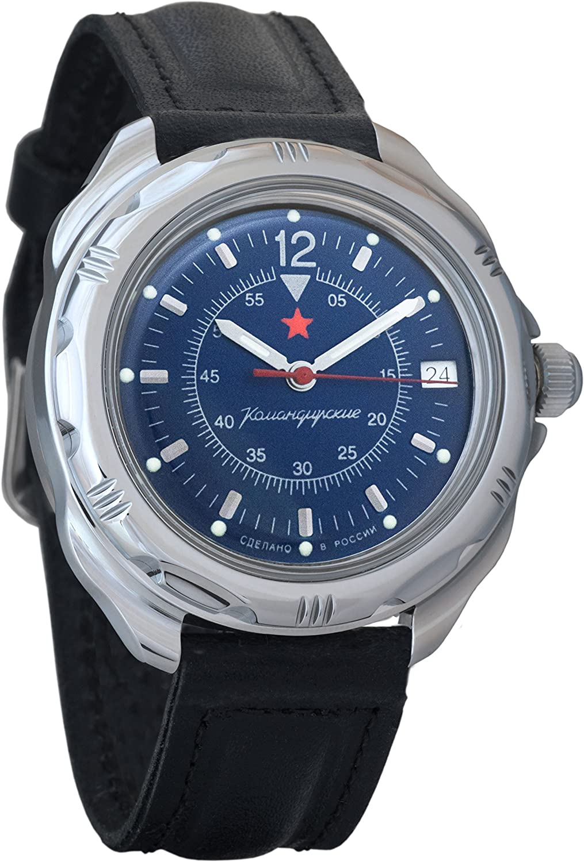 Hugo Boss Men s 40mm Blue Leather Band Steel Case Quartz Analog Watch 1513648