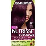 Garnier Nutrisse Ultra Color Nourishing Color Creme,BR1 Deepest Intense Burgundy(Packaging May Vary)