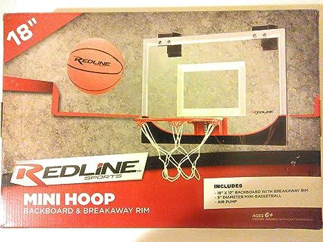 Amazon.com  REDLINE SPORTS MINI BASKETBALL HOOP 18