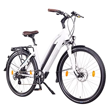 "NCM Milano Bicicleta eléctrica de Trekking, 250W, Batería 48V 13Ah 624Wh (28"""
