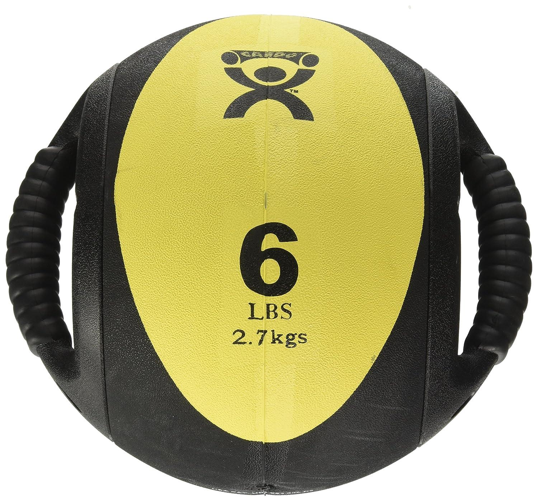 a831b6c2780125 new Cando W67561 double prise en main Médecine ball, Jaune, 2.7 kg ...