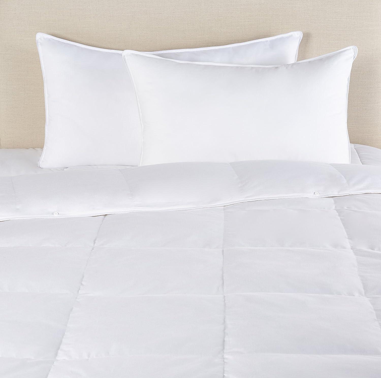 Pinzon All-Season Shed-Resistant White Down Comforter - Twin ASC-WHI-S