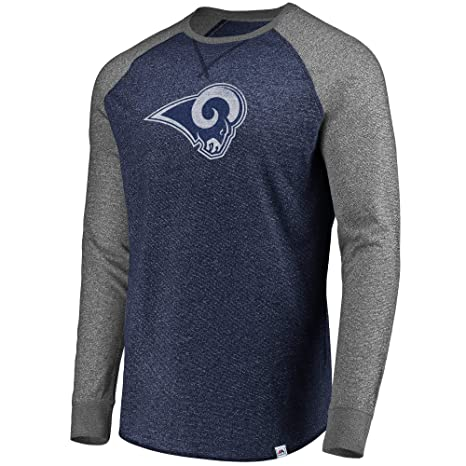 6e254c6a Amazon.com : Los Angeles Rams Men's Majestic Static Raglan Long ...