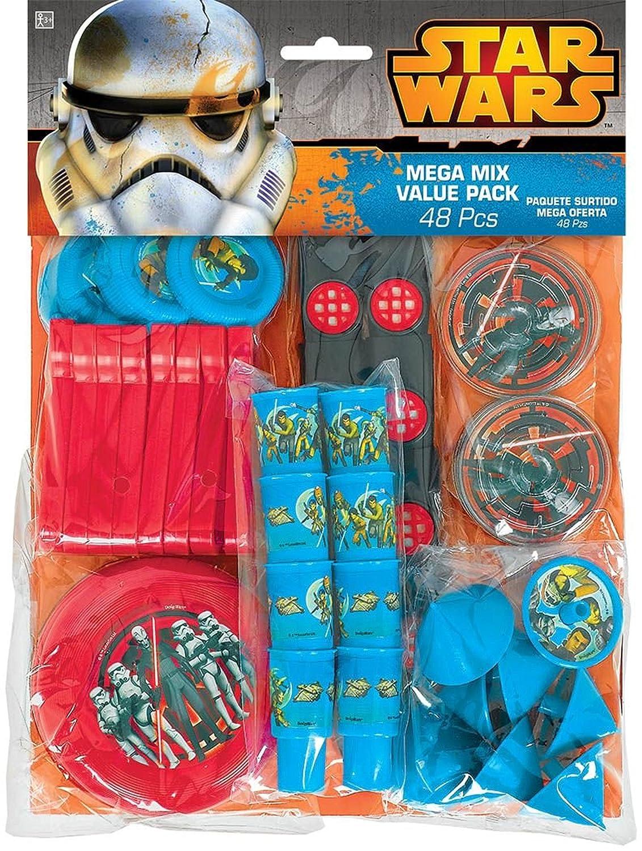 Party Favor TradeMart Inc 394712 Star Wars Rebels Mega Mix Value Pack Favors