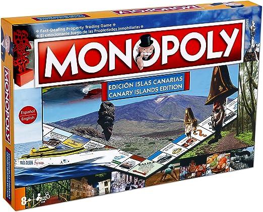 Winning Moves Monopoly Islas Canarias (63379), multicolor, ninguna ...