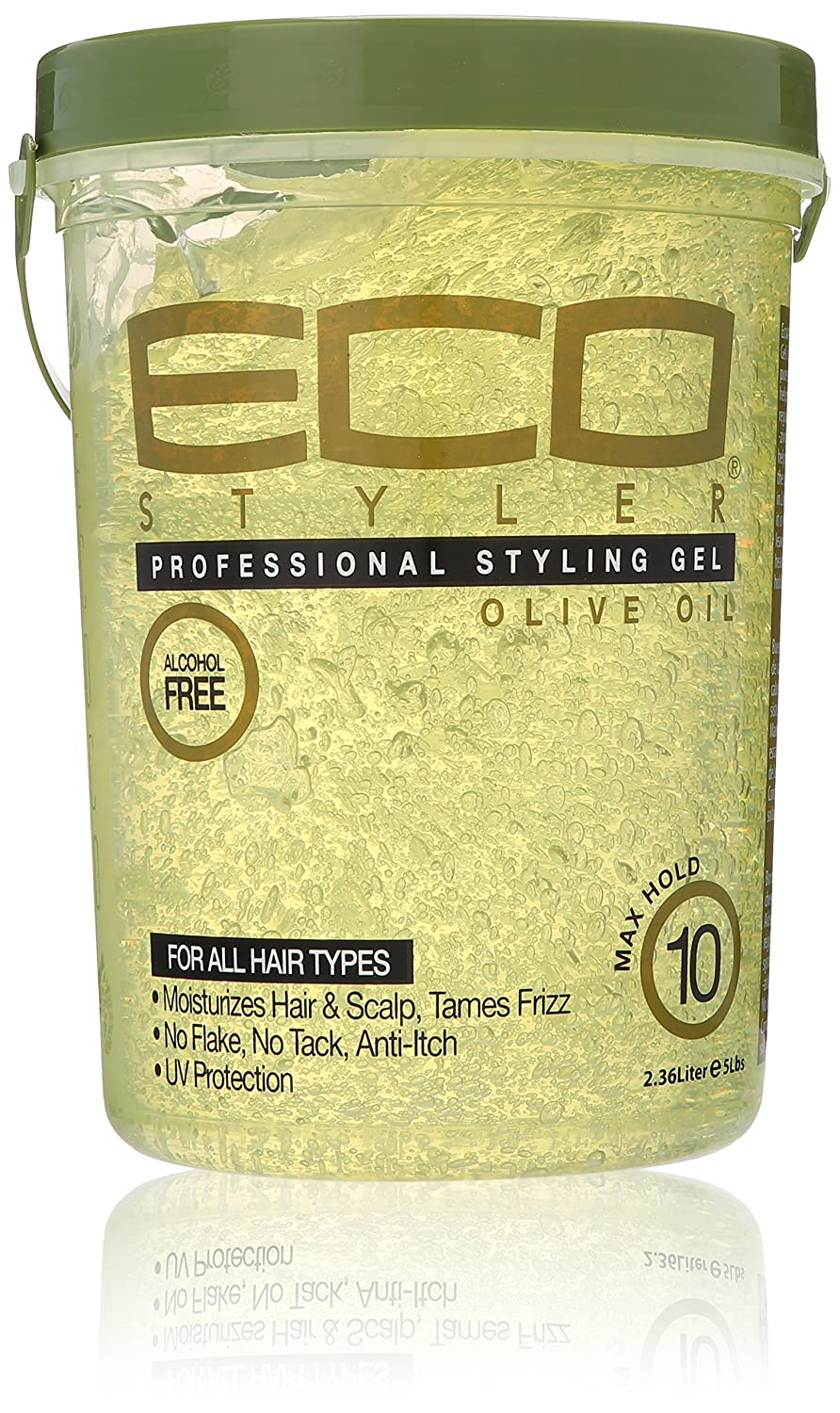 ECOCO Eco Style Gel, Olive Oil, 80 Ounce Atlas Ethnic B003E82NG4