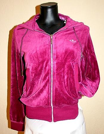 O58403 Freizeitjacke F Night Velour Adidas Damen Jogging