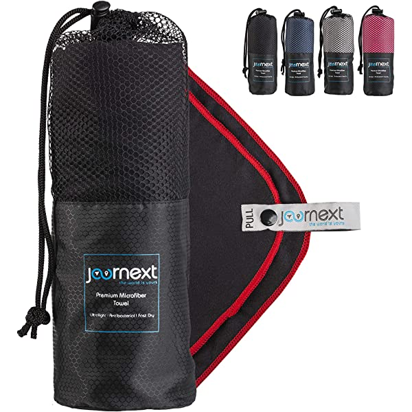 Carrying Bag//Quality LATREK Microfibre Travel /& Sports Towel Dry quickly and Extremely Absorbent