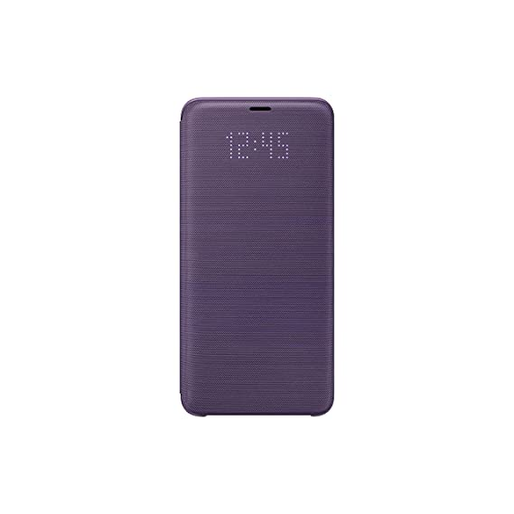 info for db7b7 f9240 Samsung Official OEM Galaxy S9+ LED View Wallet Cover (Violet)